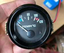Z0962 c 52mm Smoked WATER TEMPERATURE TEMP PRO GAUGE KIT DEGREES