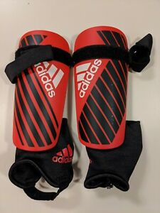 Adidas Youth Small Shin Guards Red