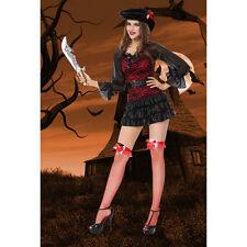 Nuevas señoras para mujer Sexy Pirata Halloween Disfraz Disfraces Vestido De Fiesta holcos24