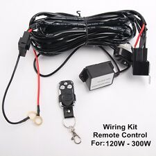 Remote Control Wiring Harness Kit Switch Relay Led Light Bar 180W 240W 300W 2M