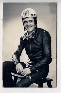 Ray Amm, Motorcycle racer, Norton, Isle of Man TT, 1954, 2 Rps