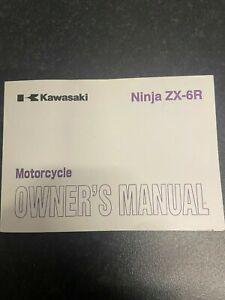 2009-13 KAWASAKI ZX-6R RB OWNERS MANUAL 99986-1601