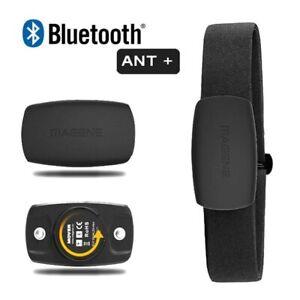 MHR10 4.0 ANT+ Bluetooth Heart Rate Sensor F Garmin/Bryton/iGPSPORT/Suunto Bike