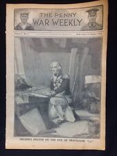 Original WW1 Penny War Weekly Publication Volume 1 No:8 October 1914