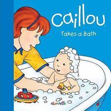 Caillou Takes a Bath (Step by Step)