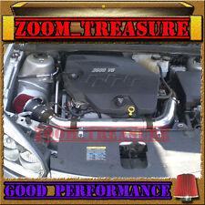 BLACK RED 2007-2008/07-08 SATURN AURA 3.5 3.5L V6 FULL AIR INTAKE KIT