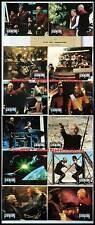 STAR TREK GENERATIONS - Stewart,Shatner,MacDowell  JEU DE 12 PHOTOS/12 FRENCH LC