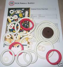 1977 Allied Leisure Getaway Pinball Machine Rubber Ring Kit
