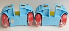Play Heel Wheels Roller Skates Shoe Attachments Paw Patrol with working lights