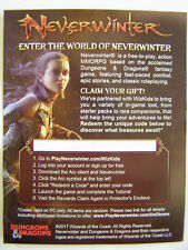 D&D Tomb of Annihilation Neverwinter MMORPG Redeemable Loot Code