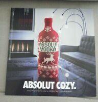 2001 PRINT AD, Absolut Cozy, Vodka
