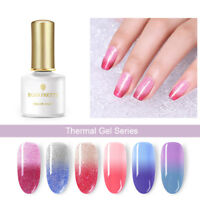 BORN PRETTY 6ml Thermal Soak Off UV Gel Polish Color Changing Nail Gel Varnish