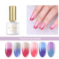BORN PRETTY 6ml Thermal Soak Off UV Gel Polish Color Changing Nail Gel Varnish