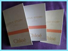 Chloe LOVE STORY 3 x 1.2ml EDP EAU DE PARFUM CAMPIONI/FIALE