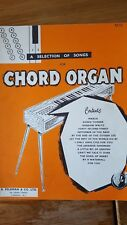 a selection of songs chord organ no3