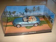 Véhicules miniatures bleus BMW