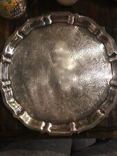 Gorham 12 Inch Round EP Server Platter