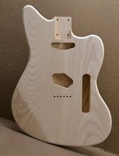 MADE TO ORDER TM Unfinished Guitar Body Ash Fits Strat or Tele Neck