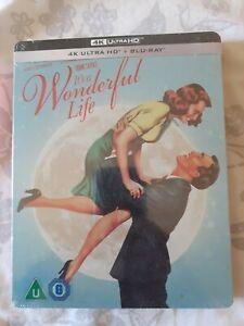 It's A Wonderful Life 4K UHD Steelbook Edition Zavvi Neuf