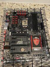 MSI Z97- GAMING 5 ATX Intel Motherboard