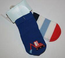 New Gymboree 2 Pack Boys Socks size 12-18m Digger Truck NWT boy sock 2 pairs