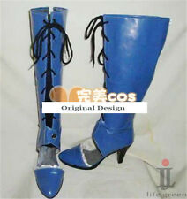 Pandora Hearts Black Alice Boot Party Shoes Cosplay Boots Custom-made