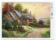 Country Cottage #5 Thomas Kinkade 300 pc Bagged Boxless Jigsaw Puzzle