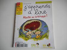 J'APPRENDS A LIRE - ALERTE AU GRIGNOTON MAI 2008 - (SANS CD) - DES 6 ANS