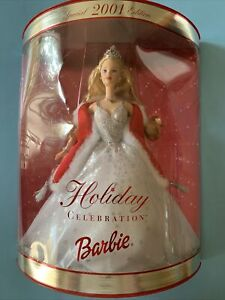 Holiday Celebration Barbie 2001 ,Special 2001 Edition Brand New Sealed