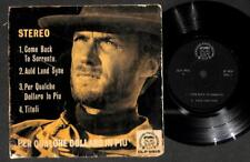 """Clint Eastwood Italy Cool Unique Singapore Cover & Label  7"""" EP 45 RPM EEP1622"""