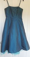 New With Tags!Per Una Teal Emerald Green Bridesmaid/Prom Dress Ball Gown Sz 12