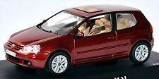 VW VOLKSWAGEN campo da golf 5 tipo 1K 3 PORTE 2003-08 rosso metallizzato 1:43