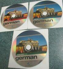 GERMAN CD Language Courses Grammar Trainer/Conversation/Course 1