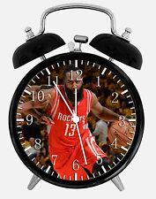"James Harden Alarm Desk Clock 3.75"" Home or Office Decor E449 Nice For Gift"