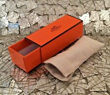 HERMES LIPSTICK BOX AND TAN COVER