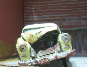 1955 Chevy Belair Nomad 1:24 Scale Die Cast  Barn Find / Wreck