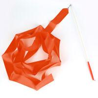 Newly Design Dance Ribbon Gym Rhythmic Gymnastics Rod Art Twirling Stick 4M