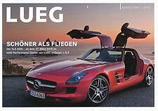 Prospekt Mercedes Newsletter 1/10 SLS AMG E-Klasse Cabrio u.a. Auto Pkw car
