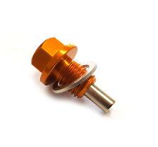 Magnetic Oil Sump Plug Nut M12 x 1.5 Gold BMW