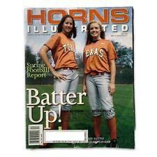 Horns Illustrated April 2006 Women's Softball Cat Osterman Meg Willis Longhorns