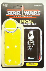 VINTAGE HAN SOLO IN CARBONITE KIT POWER OF THE FORCE LAST 17 CARD BACK KIT