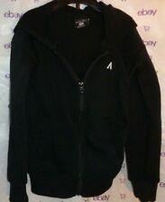 Qwick Dry Boys size m5 hood sweater black Long sleeve zip knit top