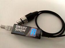 "SmartShow ""NetDMX"" : ArtNet & E1.31 (sACN) to DMX DMX512 Bridge"