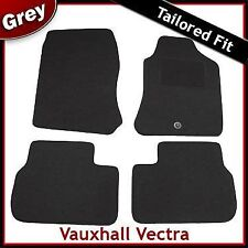 VAUXHALL VECTRA B 1995-2002 1-eyelet Tailored Carpet Car Floor Mats GREY