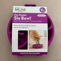 Outward Hound Fun Feeder Slo Bowl Dog Bown Medium/Mini Vet Recommended