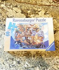 NEW Ravensburger 60 Piece Puzzle NOAH'S ARK 2001 Sealed FREE SHIP