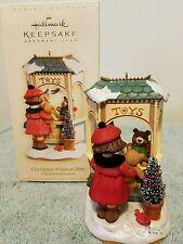 2006 Hallmark KOCC Exclusive Christmas Windows Series #4 Toy Shop  MIB