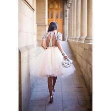Sweet Style Tutu Skirt Princess Women Petticoat Tulle Long Dress Layered Dress