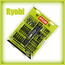 Ryobi Impact Driving Bits 44-Piece - Magnetic Bit Holder - Socket Adapters - NEW