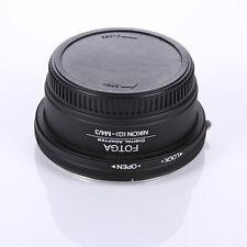 Nikon G AF S Lens to Micro M4/3 Adapter LX100 GM1 S GM5 GX7 GF5 GX1 G3 GF6 G Cap